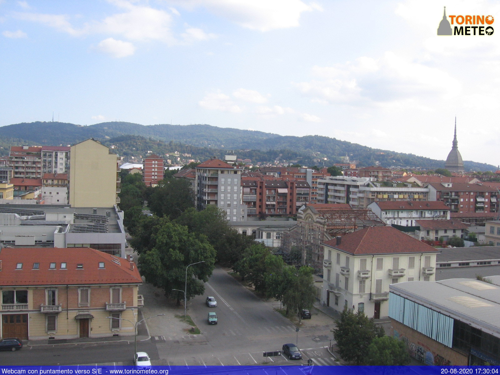 Webcam di Torino, Piemonte